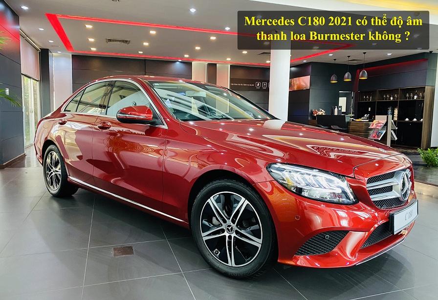 Mercedes C180 2021 có thể độ âm thanh loa Burmester không ?