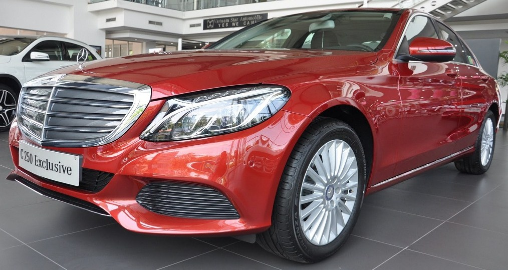 Bảng Giá xe Mercedes C250 Exclusive 2015 lăn bánh Bao nhiêu