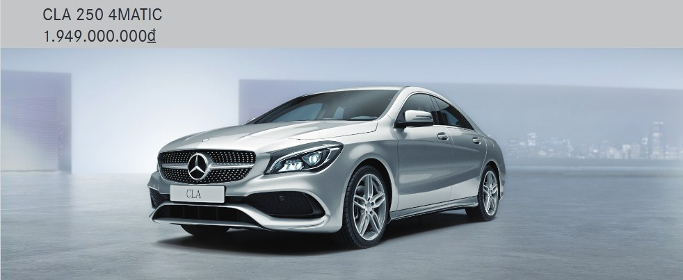 Giá xe Mercedes CLA 250 2021
