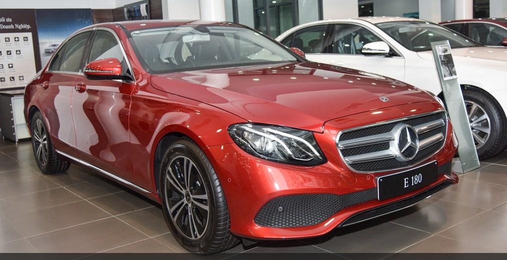 Giá xe Mercedes E180 2021