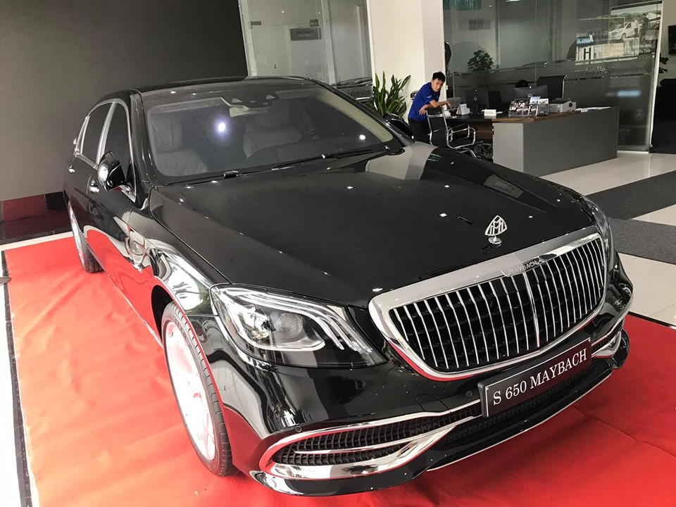 Mercedes-Maybach S650 2021