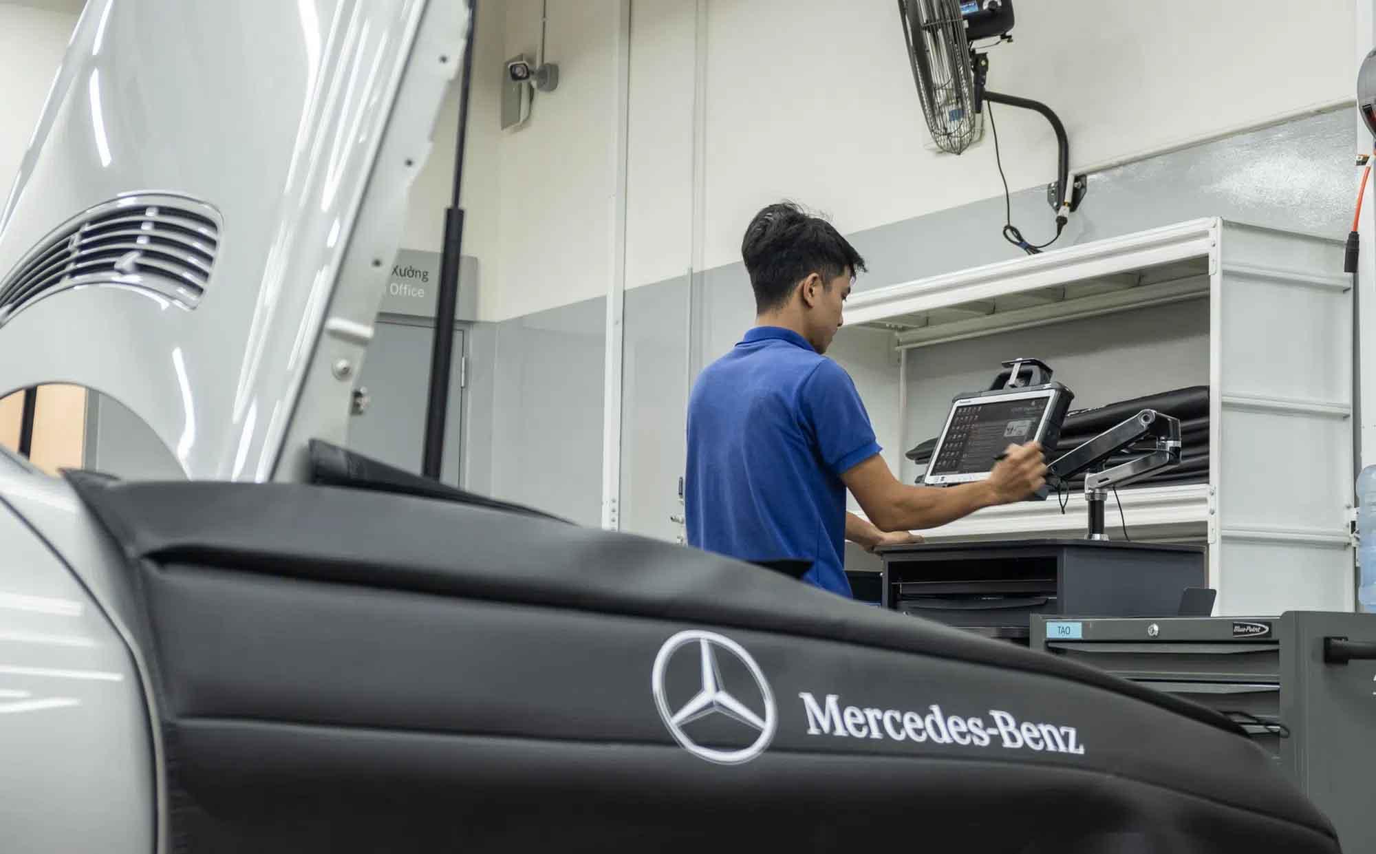 Đại lý Mercedes Vietnam Star Bình Dương