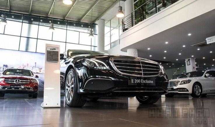 Bảng giá lăn bánh Mercedes-Benz E200 Exclusive 2021