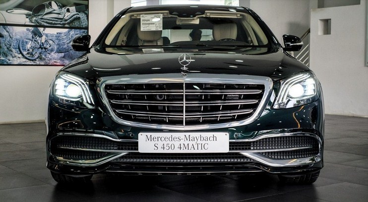 Bảng giá lăn bánh xe Mercedes Maybach S450 2021